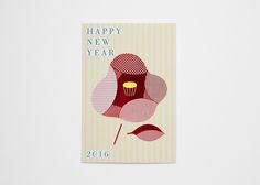 東急ハンズオリジナル 年賀状 2016   coton design