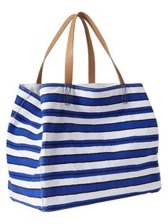 Gap Striped Tote Bag