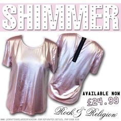 STAND OUT in our #amazing #pink #SHIMMER #top! Would look great with #ripped black #skinnies!  Get it here: http://www.leboutiqueladiesfashion.com/separates_detail.php?code=839