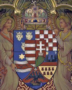 Angyalos címer parlament