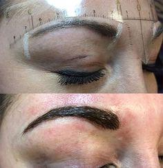 Permanent Cosmetics Eyebrow Tattoo - Before & After Photos Permanent Eyebrows, Permanent Makeup, Before After Photo, Eyebrow Tattoo, Beauty Makeup, Campaign, Content, Cosmetics, Medium