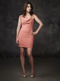 Cobie Smulders (Robin on HIMYM)