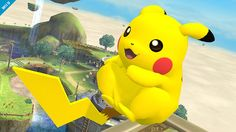 Pikachu, Super Smash Bros - Wii U
