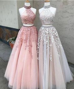 Strong-Willed Finove Flower Homecoming Dresses 2019 New Two-piece Set Lace Crop Top Pink And Green Pattern Short Skirt Party Gowns For Girls Weddings & Events