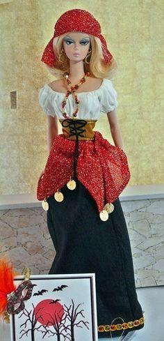 Costumes Gypsy Barbie