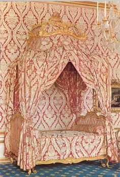The furniture of Mme Pompadour (Louis XV)