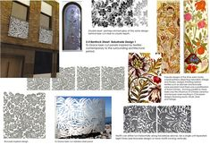 Design to Grace - Balcony panels, concept board