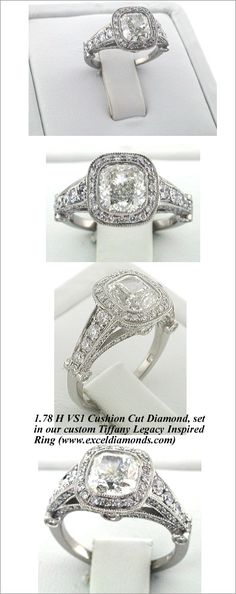 I LOVE Victorian influenced engagement rings (COUGH COUGH)