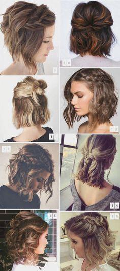 kort hårfrisyre