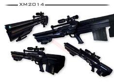 Gauss Rifle - CRYSIS VERSION by Seargent-Demolisher on DeviantArt
