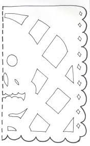 Terrible image for papel picado template printable