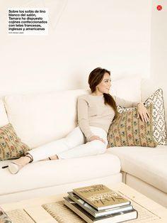 ESTILISTA DE MODA CRISTINA REYES: El estilismo en el reportaje de Tamara y su nueva casa