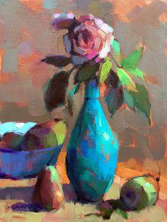 Turquoise Vase | Trisha Adams - Blog
