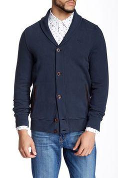 Lock Shawl Sweater