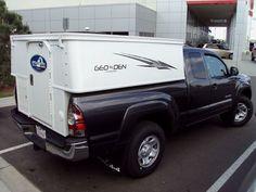 Phoenix Geo-Den is another non-cabover (NCO) slide-in camper.