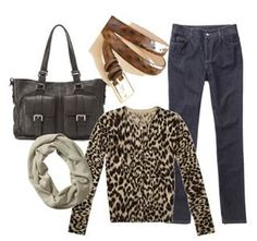 Styling Over 50: Animal Print Tops