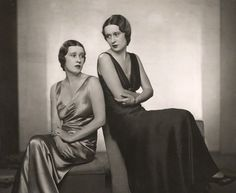 Morgan twins: Thelma, Viscountess Furness and Gloria Vanderbilt, 1932 Thelma was a mistress of Edward, Prince of Wales (later King Edward VIII, later Duke of Windsor) by Dorothy Wilding
