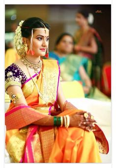 Maharastrian wedding