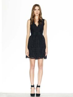 Love a great LBD! The lace adds a sophisticated feminine touch.