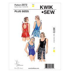 K3072, Swimsuits, Skirt & Wrap
