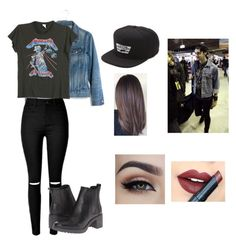 """""""michael clifford inspired outfit"""" by sarahhhh25 ❤ liked on Polyvore featuring Madewell, MadeWorn, Timberland, Vans and Fiebiger"""