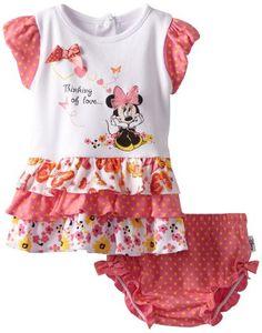 Disney Baby-Girls Newborn Dress Set