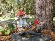 Gnome garden. Super cute!!