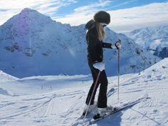 all black ski style
