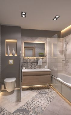 Renew Your Small Bathroom With Modern Decor. ... The other small bathroom design ideas are fresh and revolutionary, rethinking what we expect a ...