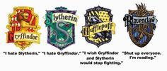 Yeah I'm definitely the Ravenclaw, with a little Hufflepuff.