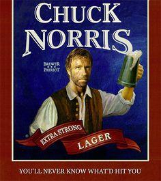 Chuck Norris Beer Jokes