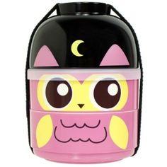 cuteZcute 2-tier Bento Lunch Box Set Baby Bento Buddies - Baby Night Owl