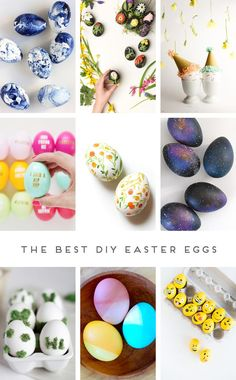 The Best Diy Easter Eggs