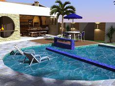 Piscinas – veja 30 modelos e dicas para decorar sua área de lazer! Veja muito mais fotos, dicas e informações técnicas de cada piscina no blog Decor Salteado! É só clicar nas imagens! ; - )