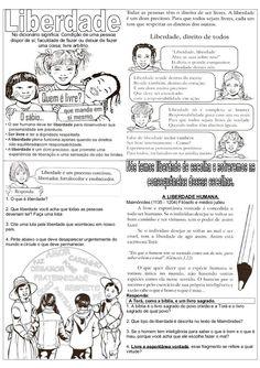 Atividades de ensino religioso liberdade (1) Sistema Solar, Bullying, Professor, Activities, Education, 1, Journey, Download, Middle School Activities