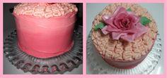 Layer cake con bizcocho de vainilla, almibar de wisky y Buttercream de queso y con fresa.