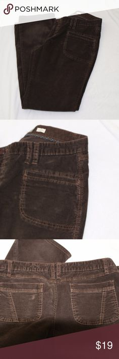 Old Navy brown low rise pants Old Navy Brown low rise pants in womens stretch made in china  P-11 Old Navy Pants