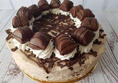 Kinder Bueno Cake Orsi Bornemisza's recipe - Bakery Recipes, Sweets Recipes, Cookie Recipes, Pastry And Bakery, Pastry Cake, Chocolate Birthday Cake Decoration, Cookies And Cream Cake, Kolaci I Torte, Nutella Cake
