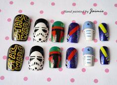 Star Wars Nails.