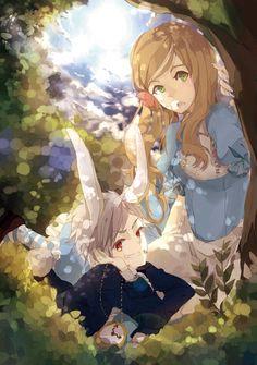 Pruhun Alice in Wonderland style