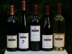 Township 7's fantastic selection Wines, Tours