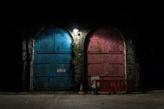 Blue Door, Red Door by Tom Glover on 500px