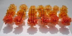 Mini pompones de papel de seda, paper flowers, party, fiestas, AIRE OBJETOS DECORATIVOS, bs as, Argentina