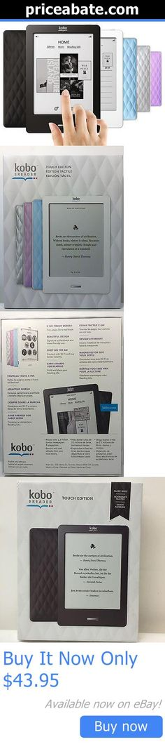 Computers Tablets Networking: New Kobo Ereader Touch 2Gb, Wi-Fi, 6 -Black, Lilac, Blue, White, Silver BUY IT NOW ONLY: $43.95 #priceabateComputersTabletsNetworking OR #priceabate