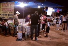 Try the typical food at the Malecon