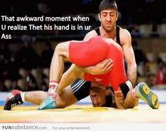 That akward moment