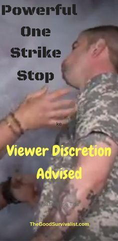 Self Defense Tips-Some people have thought the self defense moves shown here are to brutal. Which is why we put the viewer discretion advisory on this one. http://www.thegoodsurvivalist.com/powerful-one-strike-stop-viewer-discretion-advised/