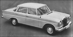 New for 1961, the Mercedes-Benz 190
