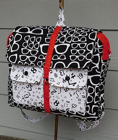 Geek Essentials Convertible Multi-size Laptop Bag Sewing Pattern Download