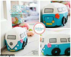 Crochet VW Campervan